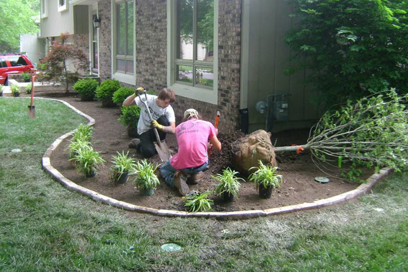 landscaping and hardscaping design and installation